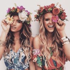 festival hair flower crown
